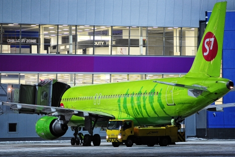Il governo mette in vendita la sua quota nella compagnia area Siberia Airlines S7 (Foto: Itar-Tass)