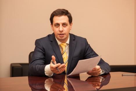 Il viceministro delle Comunicazioni e dei Mass media Mark Shmulevich, 31 anni (Foto: Ufficio stampa)
