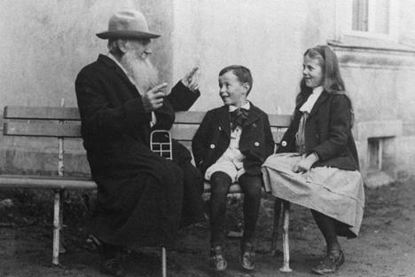 Il credo educativo di Lev Tolstoj era basato su ricerca ed esperienza ed era completamente moderno (Foto: RIA Novosti / Boris Prikhodko)