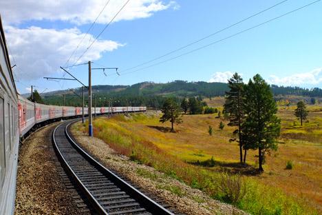 La Transiberiana che collega l'Ovest all'Est per quasi 10mila chilometri (Foto: Elena Proshina)