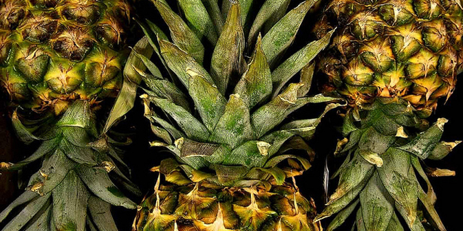 L'ananas è un ingrediente esotico usato nella cucina russa in macedonie e insalate (Foto: Flickr/Dennisweiser)