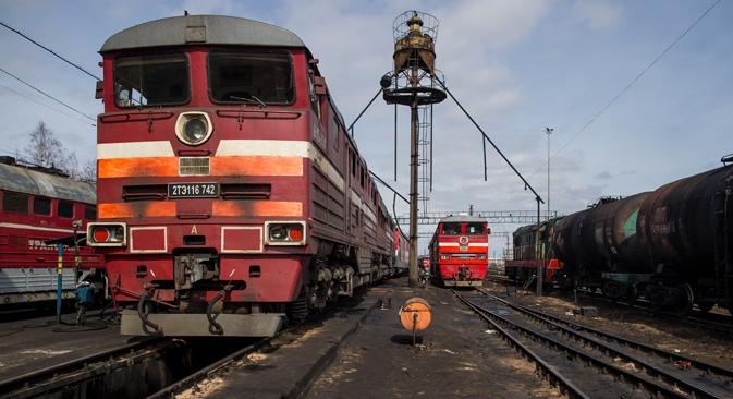 Al Merano Forum è stata annunciata ufficialmente la costruzione dell'anello ferroviario intorno a Mosca (Foto: Max Avdeev)