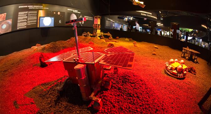La simulazione del progetto spaziale russo-europeo ExoMars, previsto tra il 2016 e il 2018 (Fonte: Esa)