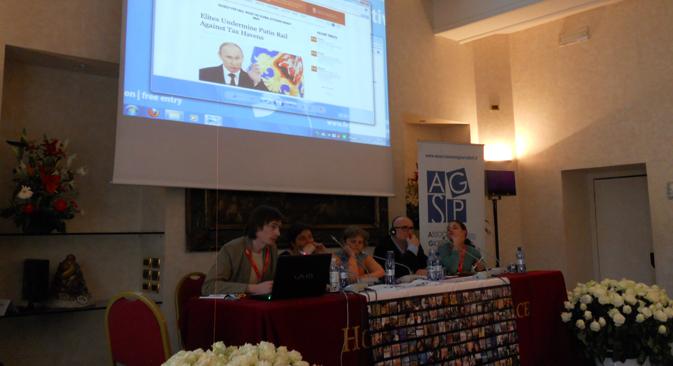 La stampa russa protagonista del Festival Internazionale del giornalismo di Perugia (Foto: Elena Zucco)
