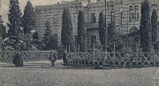 La villa dei nonni materni di Madre Maria Angelica a Batumi (Foto d'archivio, gentilmente concessa dall'Ordine Carmelitano)