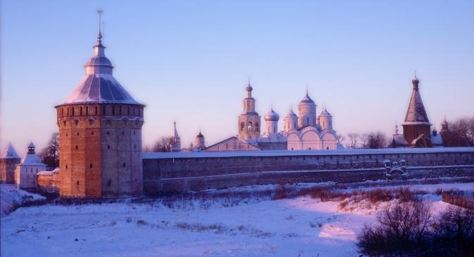 Il Monastero del Salvatore-Prilutsky, nella regione della Vologda (Foto: William Brumfield)