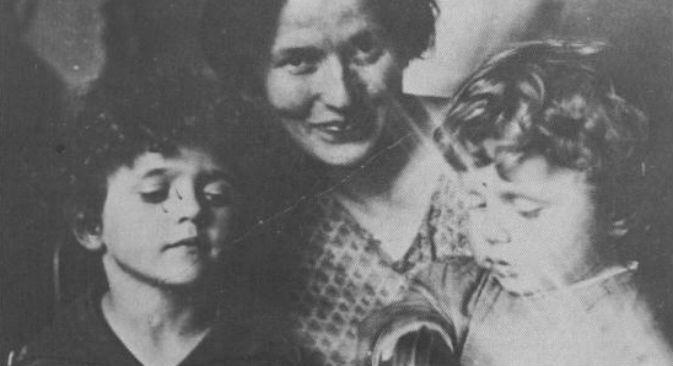Giulia Schucht incontrò Gramsci a Mosca e da lui ebbe due figli (Credit: Fondazione Istituto Gramsci, Archivio Antonio Gramsci)