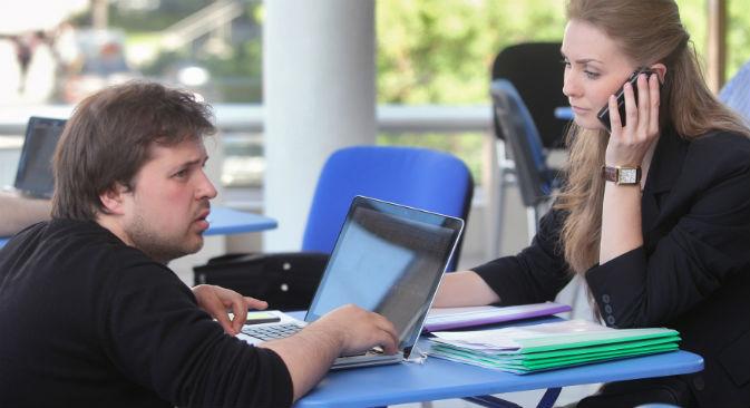 La Russia può offrire di più ai giovani imprenditori rispetto all'Occidente (Foto: Ria Novosti)