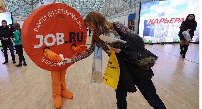 Scende in Russia il numero di iscritti ai centri per l'impiego (Foto: Itar-Tass)