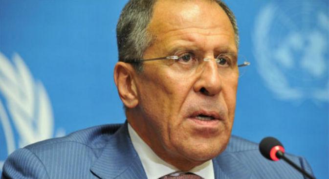 Il ministro russo degli Esteri, Sergei Lavrov (Fonte: flickr / United Nations - Geneva)
