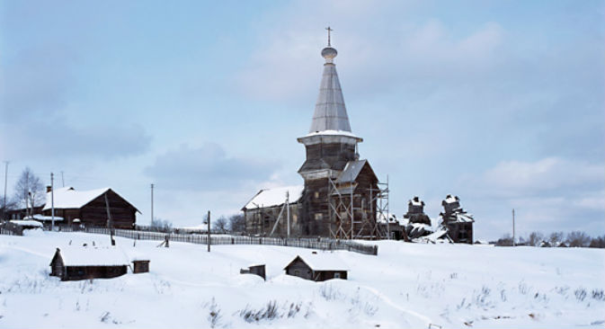 La chiesa del Profeta Elia, nella regione di Arkhangelsk (Foto: Richard Davies)