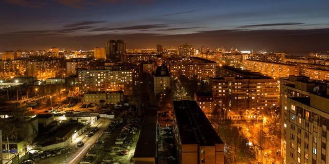 Vista notturna di Samara (Foto: Igor Stepanov)