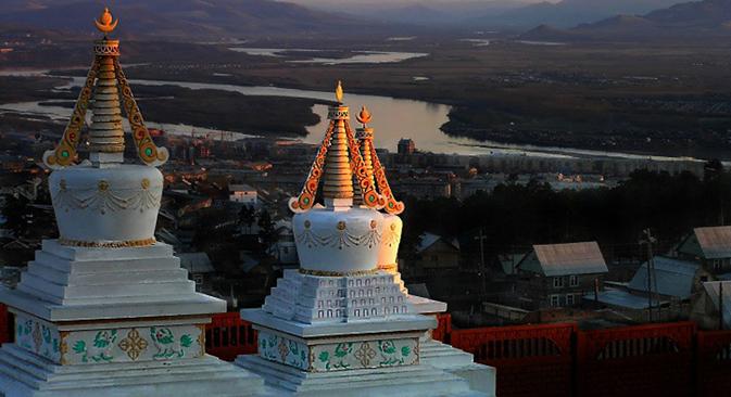 Vista dall'alto di Ulan-Ude (Foto: Igor Glushko)