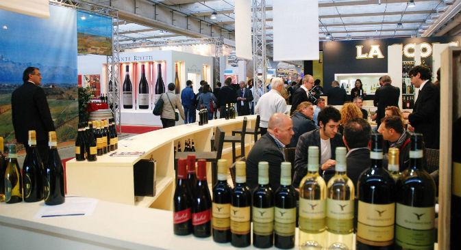 I russi consumano mediamente 7 litri di vino pro capite all'anno (Foto: Ufficio Stampa Vinitaly)