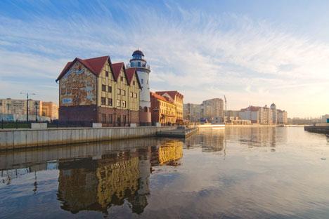 Il villaggio dei pescatori di Kaliningrad (Foto: Lori / Legion Media)