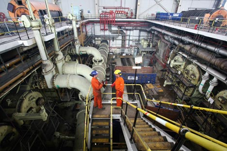 Addetti all'interno di una centrale (Foto: Getty Images / Fotobank)