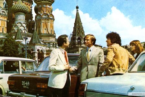 """Una scena del film film russo """"Le avventure degli italiani in Russia"""" (Fonte: Kinopoisk)"""