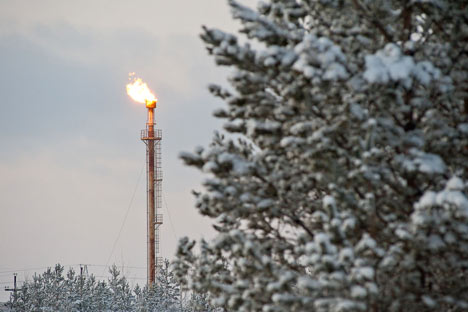 Nella regione di in Yugra TNK-BP sta per attuare una serie di progetti di trattamento del gas associato (Foto: strana.ru)
