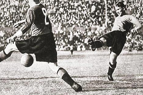 Il calciatore Grigory Fedotov (Foto: Pfc-Cska)