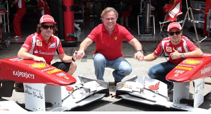 Kaspersky Lab è sponsor ufficiale del team Ferrari (Foto: AFP / East News)