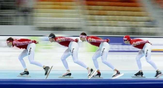 Le gare invernali della stagione preolimpica fanno ben sperare sui risultati degli atleti russi a Sochi 2014 (Foto: Ap)