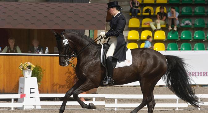 Intensa preparazione per la Nazionale russa di equitazione in vista di Rio 2016 (Foto: Lori/Legion Media)
