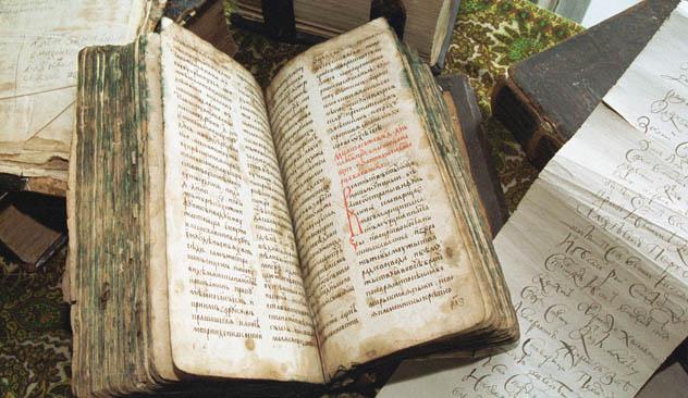 Il 24 maggio la Russia e tutto il mondo slavo festeggiano 1150 anni della scrittura slava che coincide con l'inizio della missione dei Santi Cirillo e Metodio (Foto: Itar-Tass)