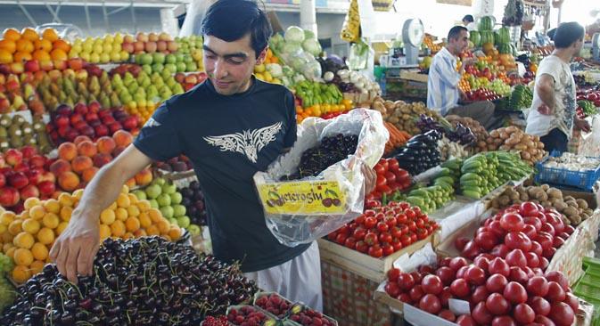 Mosca necessita di due mercati all'ingrosso a modello europeo e si cercano gli spazi per realizzarli (Foto: Itar-Tass)