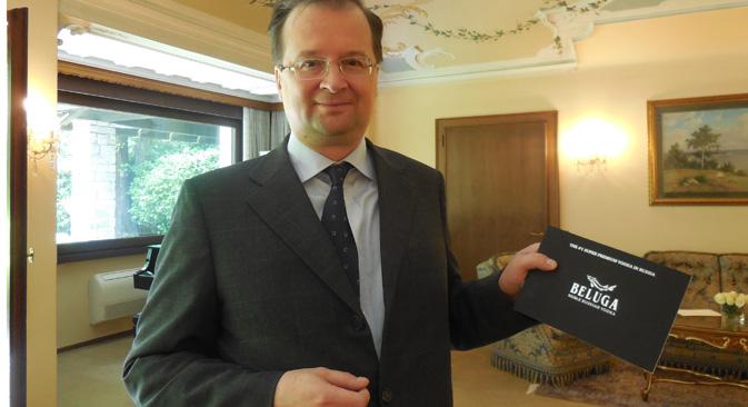 Il console russo a Milano Alexei Paromonov (Foto: Mariella Caruso)