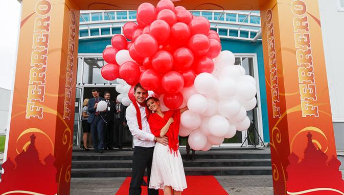 Nello stabilimento di Vladimir si sono svolti i festeggiamenti per il quinto anniversario dell'impianto, che da solo produce 33.000 tonnellate di prodotti Ferrero all'anno (Foto: Ufficio Stampa)