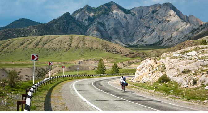 Sulle montagne dell'Altaj (Foto: Lori/Legion Media)