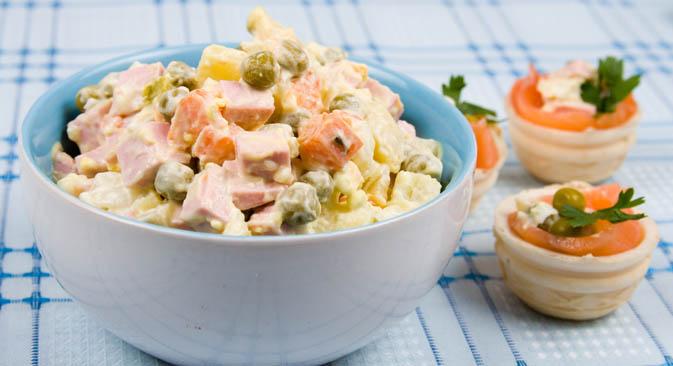 L'insalata russa è un piatto noto in tutto il mondo (Foto: Lori / Legion Media)
