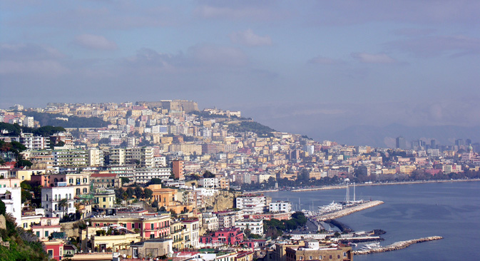 Vista su Napoli (Foto: Lori/Legion Media)