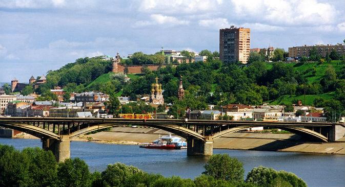 La regione di Nizhny Novgorod, considerata una delle zone più sviluppate della Russia, intrattiene rapporti commerciali con oltre 125 Paesi (Foto: Ufficio Stampa)