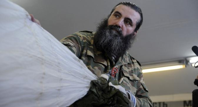 I sacerdoti servono le forze armate russe per diffondere i valori della tradizione ortodossa nell'esercito e i sentimenti patriottici nella società (Foto: Ridus.ru / Vasily Maksimov)