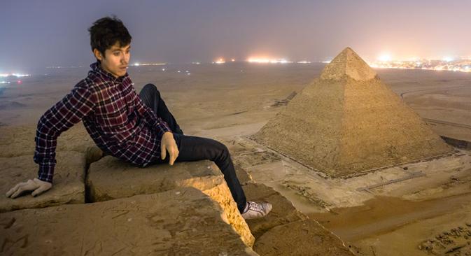 Due roofers di Mosca hanno scalato le piramidi a mani nude (Foto: Vadim Makhorov / sellyourphotos.net)