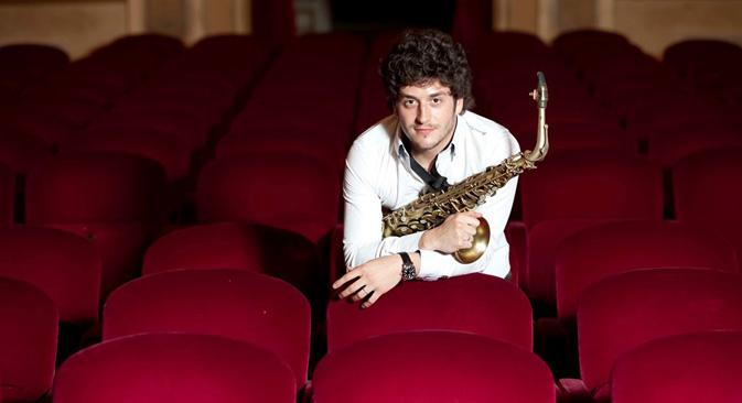 Il musicista siciliano Francesco Cafiso (Foto: Ugo Dalla Porta)