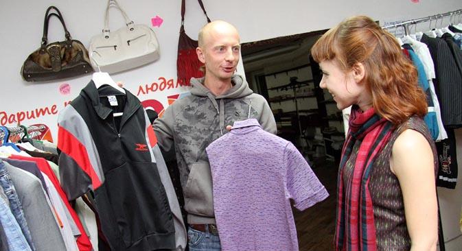 Lo Spasibo charity shop a San Pietroburgo (Foto: Ufficio Stampa)