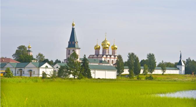 Il monastero della Madre di Dio Iverskaya a Valdai (Foto: William Brumfield)