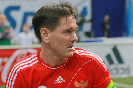 L'ex calciatore russo Dmitri Alenichev (Foto: Ria Novosti)