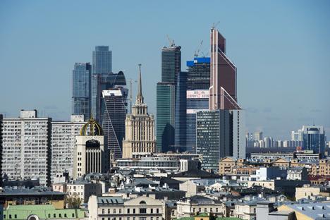 Il Moscow International Business Center combina attività d'affari, spazi e divertimento (Foto: Ria Novosti)