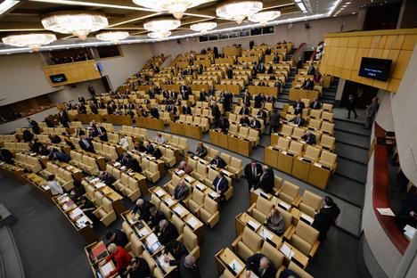 Alla Duma di Stato presentato il primo disegno di legge contro la violenza domestica sulle donne (Foto: Alexei Filippov / RIA Novosti)