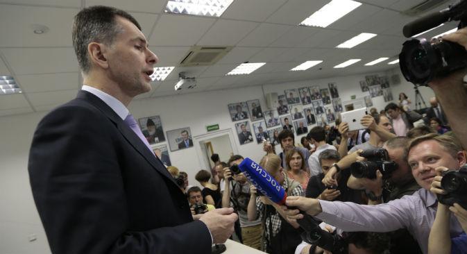 L'oligarca russo Mikhail Prokhorov non correrà alle comunali di Mosca (Foto: Ap)