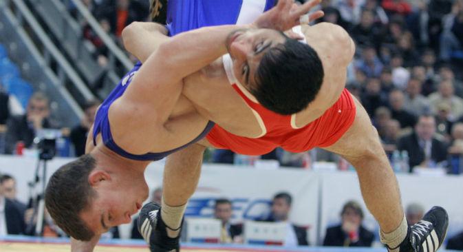 Dopo Londra 2012, da febbraio 2013, la lotta è stata esclusa dalle Olimpiadi. La Russia spera nella sua riammissione ai Giochi del 2020 (Foto: Kommersant)