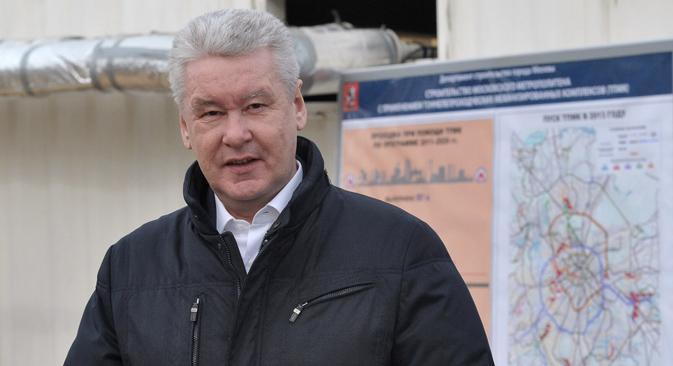 Il sindaco dimissionario di Mosca Sergei Sobyanin (Foto: Kommersant)