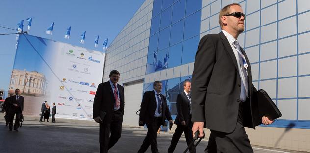 I dirigenti di più di 500 aziende hanno confermato la loro partecipazione al Forum Economico internazionale 2013 di San Pietroburgo (Foto: Kommersant)