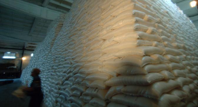 Tra gennaio e marzo 2013, la Russia ha esportato nei Paesi confinanti con la Csi alimentari e materie prime agricole per un valore di 3,2 miliardi di dollari (Foto: RIA Novosti / Vladimir Vyatkin)