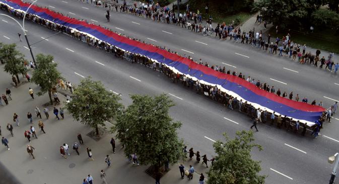 Celebrazioni in occasione del Giorno della Russia (Foto: Aleksandr Makarov / Ria Novosti)