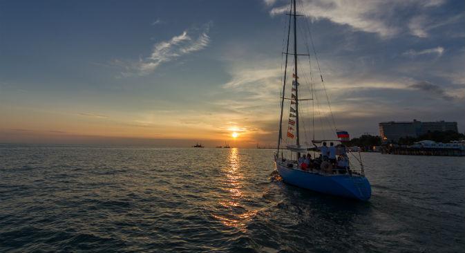 L'International Yacht Festival contribuirà a sviluppare il settore nautico nella regione di Sochi (Foto: Ria Novosti)