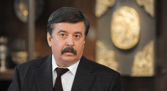 Sergei Shakhrai, uno dei padri della Costituzione russa (Foto: Ria Novosti)